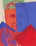 Andy Warhol Ten Jews of the Twentieth Century Gertrude Stein | FS-II.227