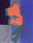 Andy Warhol Ten Jews of the Twentieth Century Sigmund Freud | FS-II.235