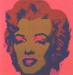 Andy Warhol, Marilyn Monroe (Marilyn), 1967 Screen Print, pink background