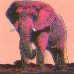 Andy Warhol Endangered Species African Elephant | FS-II.293