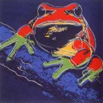 Andy Warhol Endangered Species Pine Barrens Tree Frog | FS-II.294