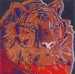 Andy Warhol Endangered Species Siberian Tiger | FS-II.297