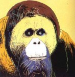 Andy Warhol Endangered Species Orangutan | FS-II.299