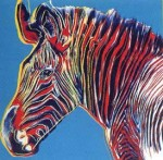 Andy Warhol Endangered Species Grevy's Zebra | FS-II.300