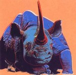 Andy Warhol Endangered Species Black Rhinoceros | FS-II.301