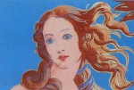 Andy Warhol Details of Renaissance Paintings; (Sandro Botticelli, Birth of Venus, 1482) | FS-II.319