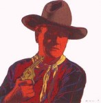 Andy Warhol Cowboys and Indians John Wayne | FS-II.377