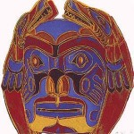 Andy Warhol Cowboys and Indians Northwest Coast Mask | FS-II.380
