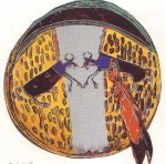 Andy Warhol Cowboys and Indians Plains Indian Shield | FS-II.382