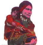 Andy Warhol Cowboys and Indians Mother and Child | FS-II.383