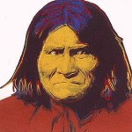 Andy Warhol Cowboys and Indians Geronimo | FS-II.384