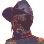Andy Warhol Cowboys and Indians Teddy Roosevelt | FS-II.386
