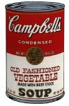 Andy Warhol Campbell's Soup (Old Fashioned Vegetable) | FS-II.54