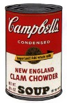 Andy Warhol Campbell's Soup (New England Clam Chowder) | FS-II.57