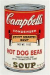 Andy Warhol Campbell's Soup (Hot Dog Bean) | FS-II.59